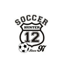 Soccer Crest Wall Decal