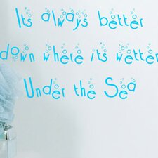 Under The Sea Wall Decal