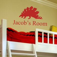 <strong>Alphabet Garden Designs</strong> Jacob's Room Personalized Wall Decal
