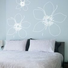<strong>Alphabet Garden Designs</strong> Big Flower Wall Decal (Set of 3)