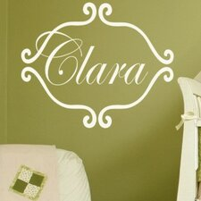 <strong>Alphabet Garden Designs</strong> Princess Clara Wall Decal