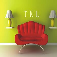 Classic Dot Monogram Wall Decal
