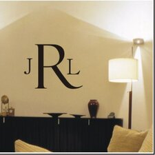 <strong>Alphabet Garden Designs</strong> Classic Monogram Wall Decal