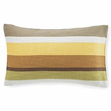 Hosta Stripe Cotton Pillow