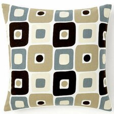Geo Square Cotton Pillow