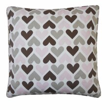 Hearts Cotton Pillow