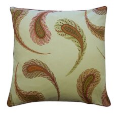 Peacock Satin Cotton Pillow