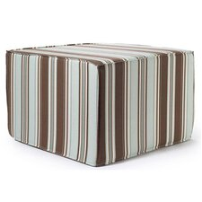<strong>Jiti</strong> Thick Stripes Outdoor Ottoman in Spa