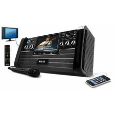 "Akai Top Load DVD / CD+G 7"" Video Karaoke System"
