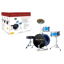 Spectrum AIL 660B Electric Blue Three Piece Junior Drum Kit