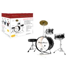 Spectrum AIL 662BK Midnight Black Three Piece Junior Drum Kit