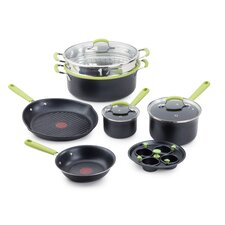 <strong>T-fal</strong> Balanced Living Professional 10-Piece Cookware Set