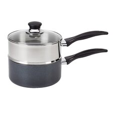 3-qt. Double Boiler with Lid
