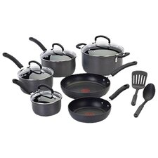 <strong>T-fal</strong> Ultimate Hard Anodized 12-Piece Cookware Set