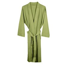 <strong>Pure Fiber</strong> Organic Combed Cotton Knitted Bathrobe