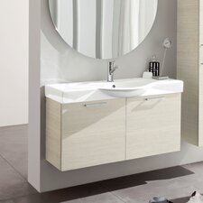 "Light 41.5"" Ceramic Vanity Set"