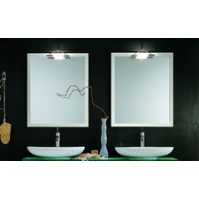 "Archeda X Lighted 31.5"" H x 27.6"" W Mirror"