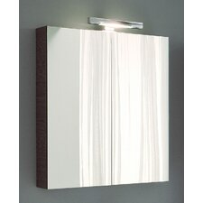 "Light 1 31.5"" x 27.6"" Mirror Medicine Cabinet"