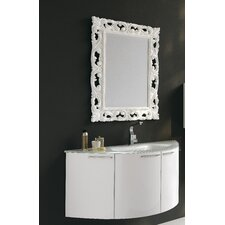"Archeda V 47.5"" Curved Bathroom Vanity Set"