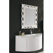 """Archeda V 48"""" Curved Bathroom Vanity Set"""