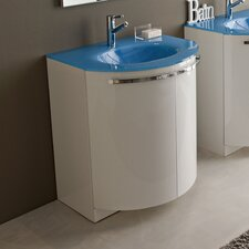 "Archeda II 28"" Curved Vanity Base"