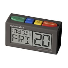 <strong>MedCenter System</strong> Interactive 6 Personalized Alarm Reminder Clock