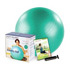 "<strong>STOTT PILATES</strong> 25.5"" Stability Ball Power Pack"