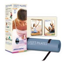 <strong>STOTT PILATES</strong> Pilates Express Mat Kit in Steel Blue