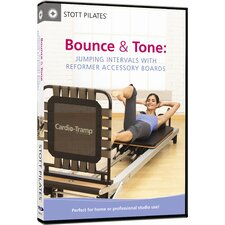 Bounce and Tone Jumping Intervals with Reformer Accessory Boards DVD