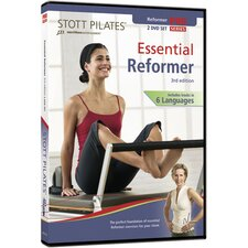 <strong>STOTT PILATES</strong> 3rd Edition Essential Reformer DVD (Set of 2)