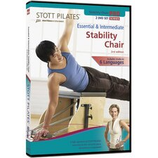 <strong>STOTT PILATES</strong> 2nd Edition Essential and Intermediate Stability Chair DVD (Set of 2)