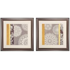 <strong>Propac Images</strong> 2 Piece Contemporary Wall Art Set