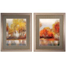 Reflections 2 Piece Framed Painting Print Set