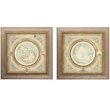 <strong>Propac Images</strong> 2 Piece Maps Wall Art Set