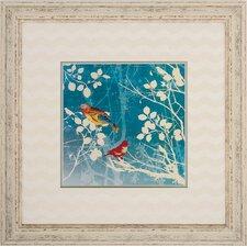 Bird 2 Piece Framed Graphic Art Set