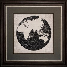 World News 2 Piece Framed Graphic Art Set