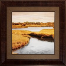 Morning Calm 2 Piece Framed Painting Print Set