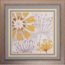 Flowers in the Wind 2 Piece Framed Wall Art Set