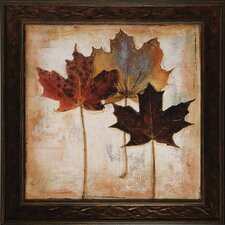 Leaves III / IV Framed Art (Set of 2)