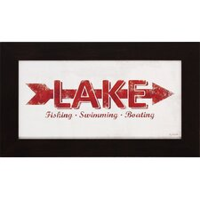 <strong>Propac Images</strong> Lake Rules Wall Art