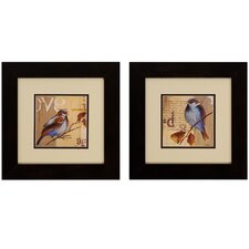<strong>Propac Images</strong> Bird I/II Wall Art (Set of 2)