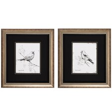 <strong>Propac Images</strong> Song Bird III / IV Wall Art (Set of 2)