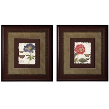 <strong>Propac Images</strong> Floral I / III Framed Art (Set of 2)