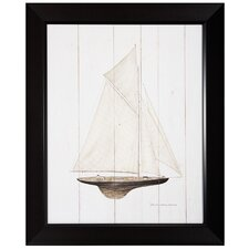 "<strong>Propac Images</strong> Sailboat I Print- 27"" x 33"""