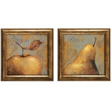 "<strong>Propac Images</strong> Pomme and Poure Print Set - 25"" x 25"" (Set of 2)"
