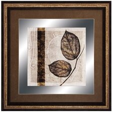 Fall Leaves II Framed Graphic Art