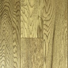 "<strong>Aurora Hardwood</strong> Hand-Sculpted 5"" Engineered Oak in Ivory"