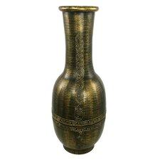 Round Decorative Flute Vase
