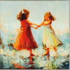 Circle of Two by Nesbit Painting Print on Canvas
