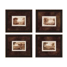Landscapes II Framed Print (Set of 4)